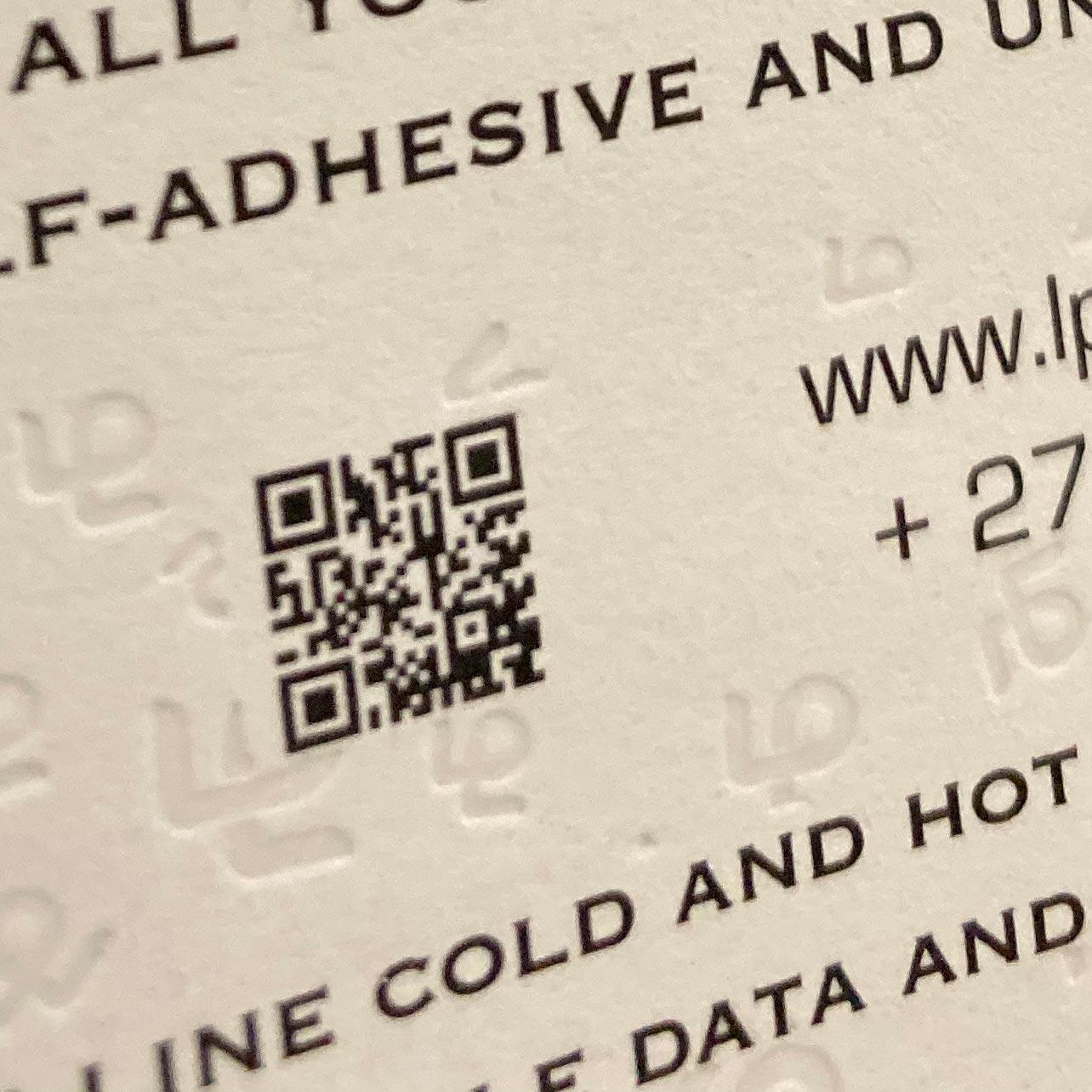 Lebone Paarl Labels - brand label barcode