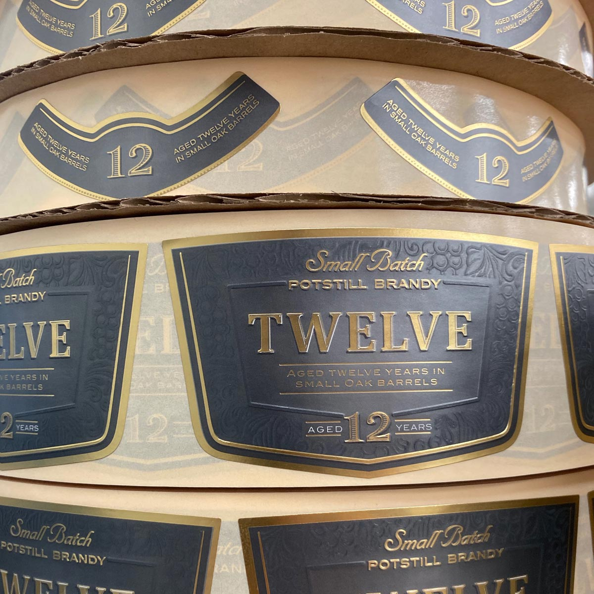 Wine Label Die Cut
