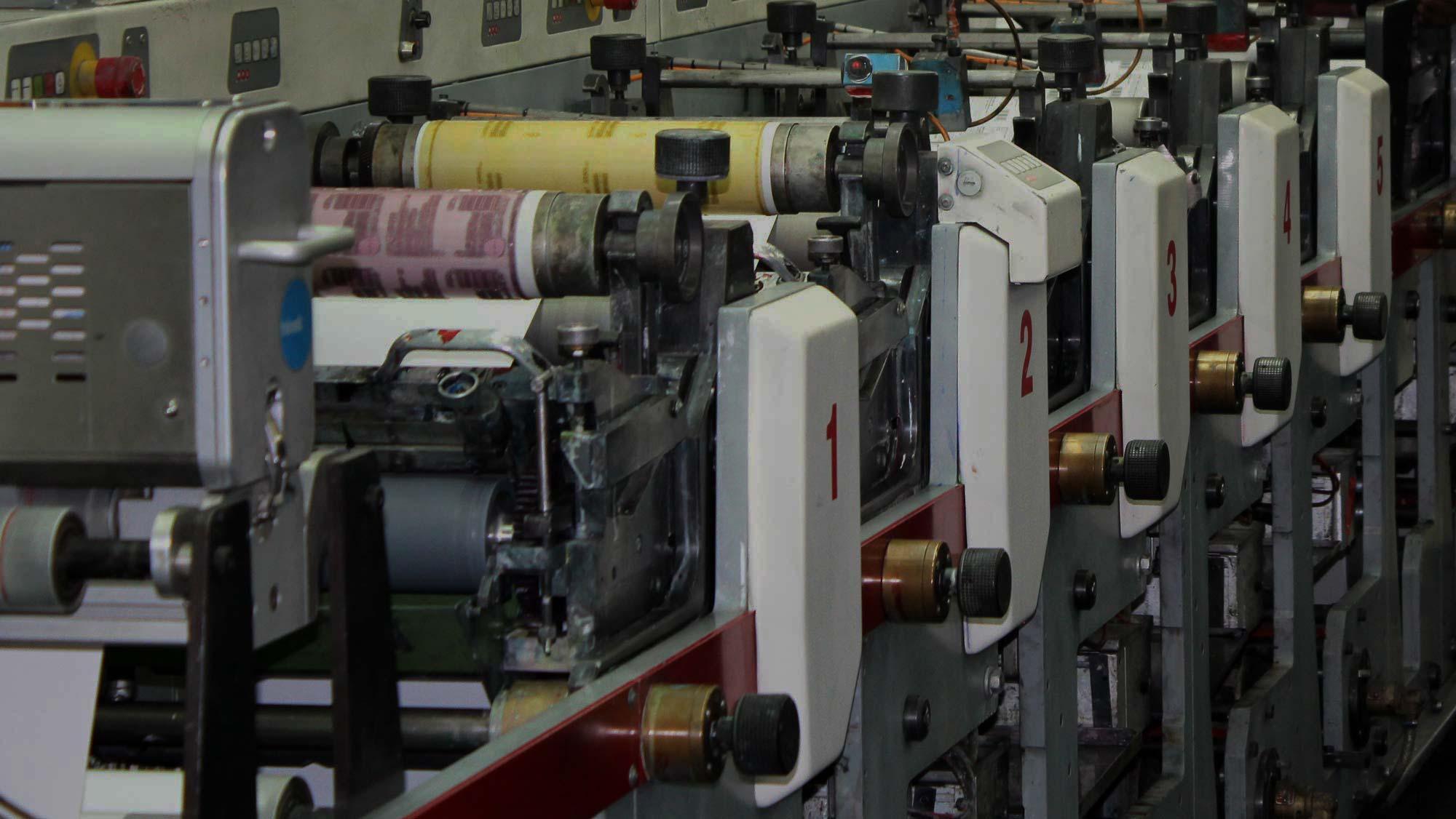 Pressure Sensitive Labels - Label Flexo Printer Label Printing
